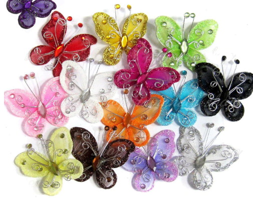 Small Mesh Butterflies