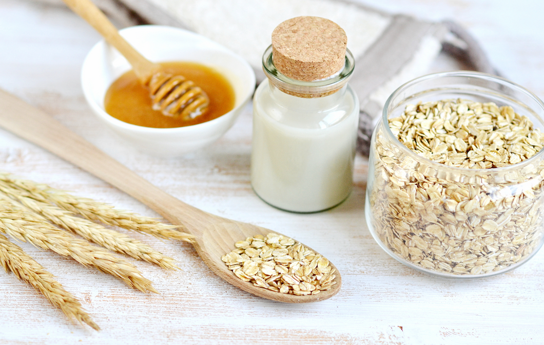 Oatmeal Milk Bath DIY Kit