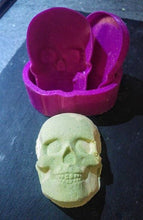 Load image into Gallery viewer, Skull Bath Bomb Hand Mold