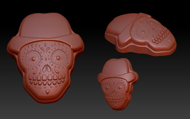 Day of the Dead Vacuum Form Molds