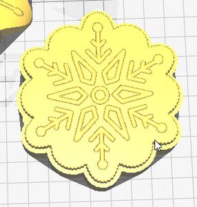 Snowflakes Vacuum Form Molds