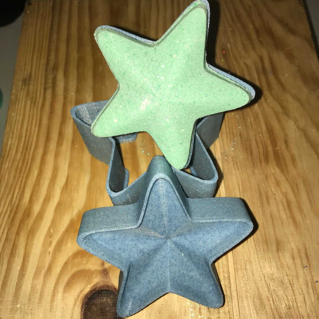 Star Bath Bomb Hand Mold