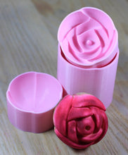 Load image into Gallery viewer, Rose Bath Bomb Hand Mold