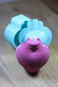 Potion Bottle Bombshell Bath Bomb Hand Mold