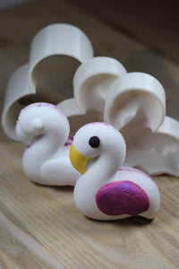 Flamingo Bath Bomb Hand Mold