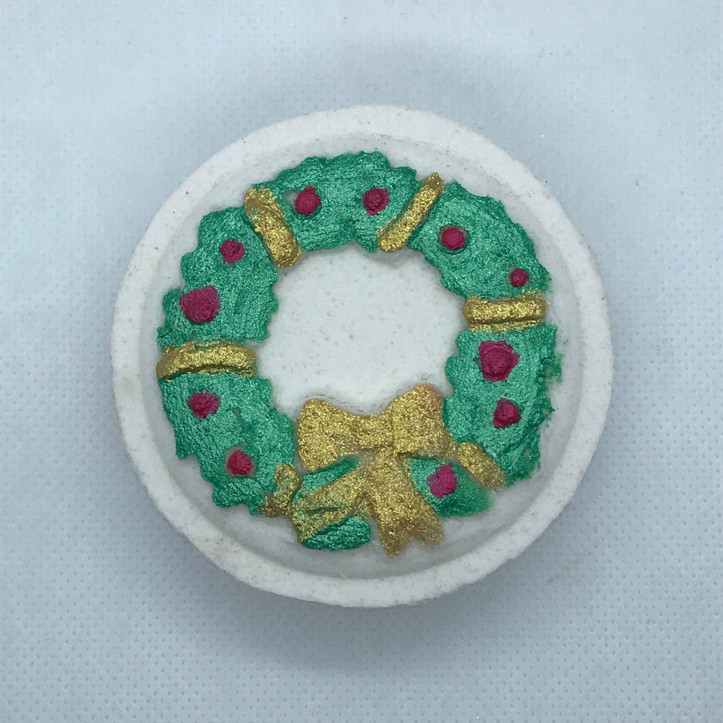 Wreath Bath Bomb Hand Mold