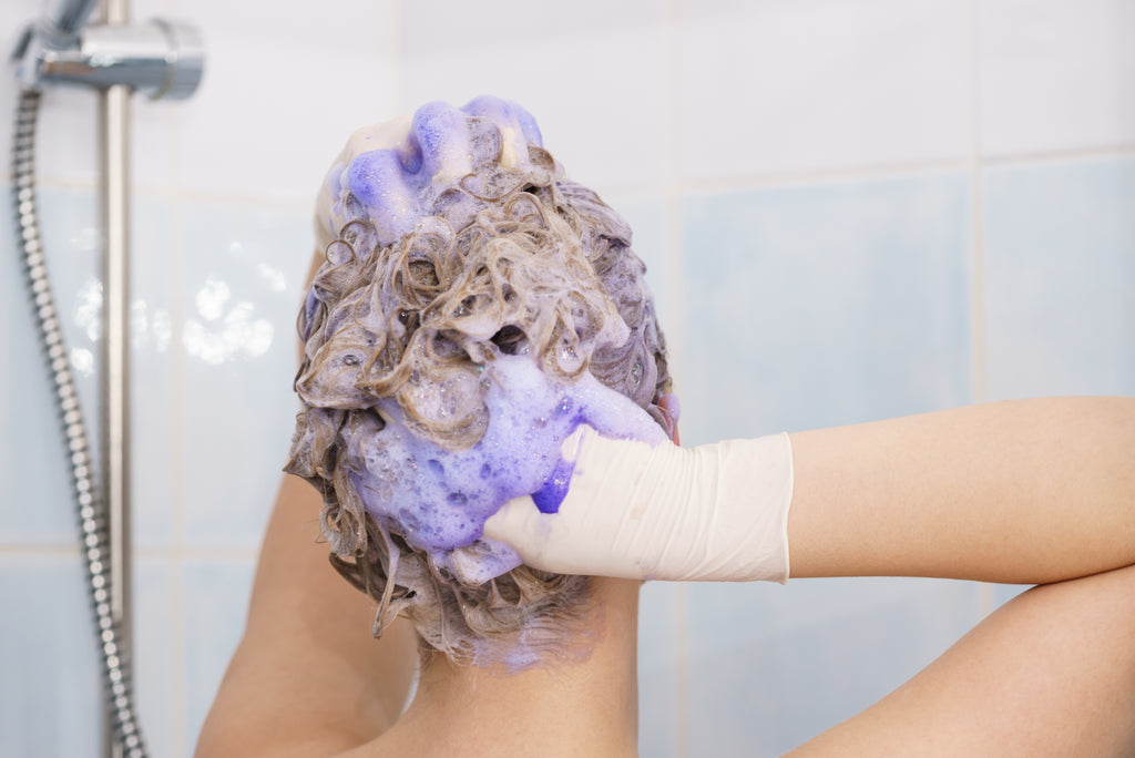 Breaking the Rainbow - Passionate Purple (D&C Violet #2 / Purple Shampoo)