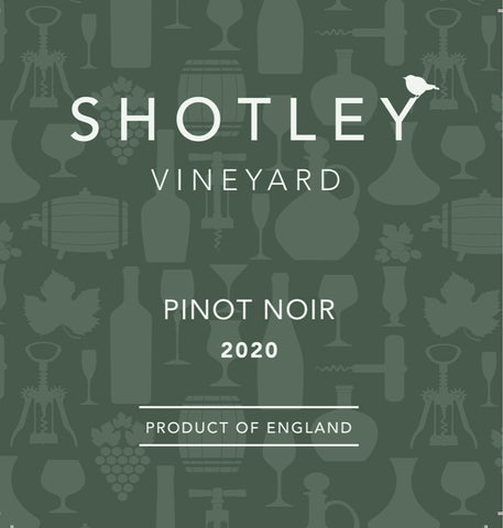 Bottle of 2020 Pinot Noir (Red Wine)