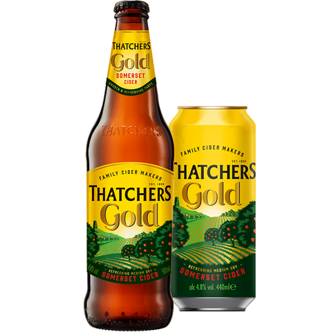 440ml Can of Thatchers Gold