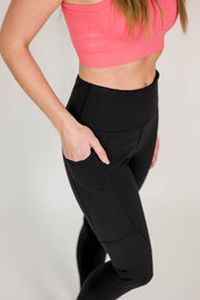 Thermal High Waist Leggings with Pockets
