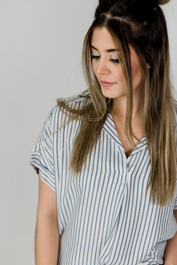 Valencia Striped Shirt