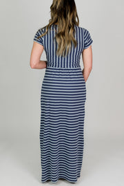 Joules Trudy Striped Maxi Dress