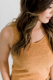 Thin V-Neck Sweater Tank