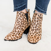 Leopard Printed Bootie