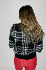 Plaid Heavy Sweater
