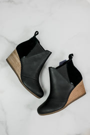 TOMS Leather Kelsey Bootie