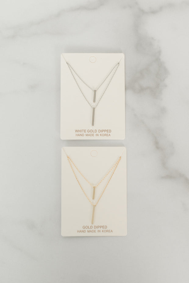 Two-Layer Dainty Necklace