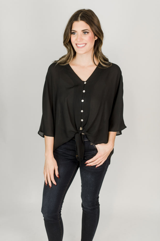 The Seattle Button Top