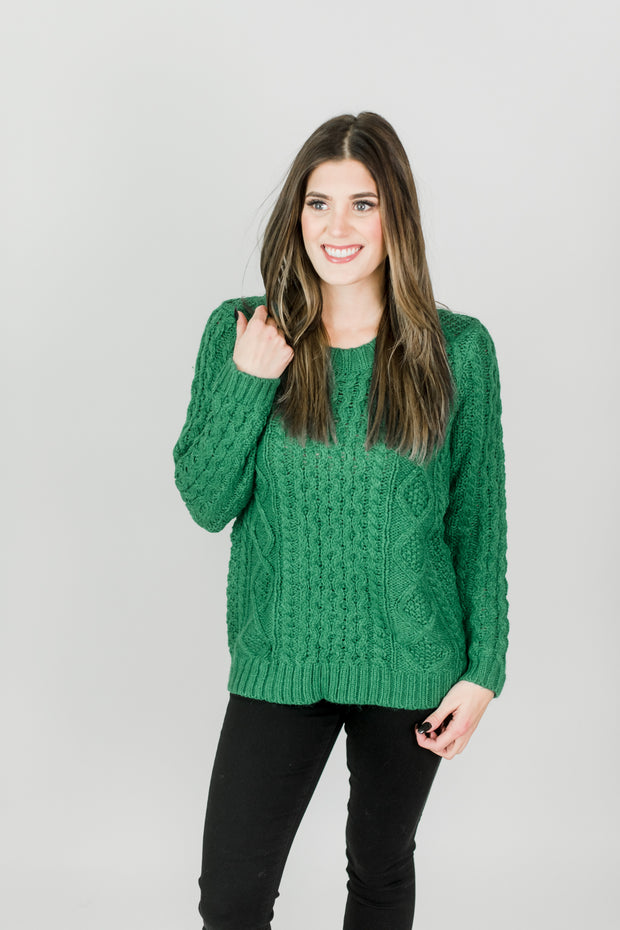 Xandra Cable Knit Sweater