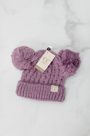 CC Kids Double Pom Pom Hat