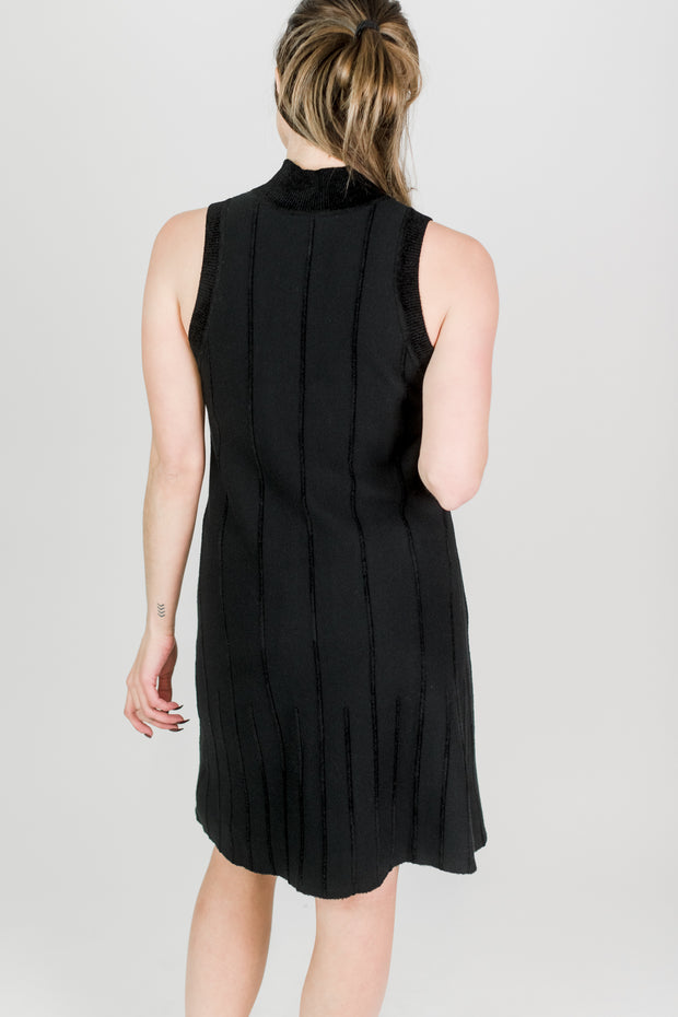 Maya Heavy Knit Sleeveless Dress