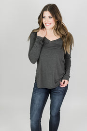 Bamboo V-Neck Top