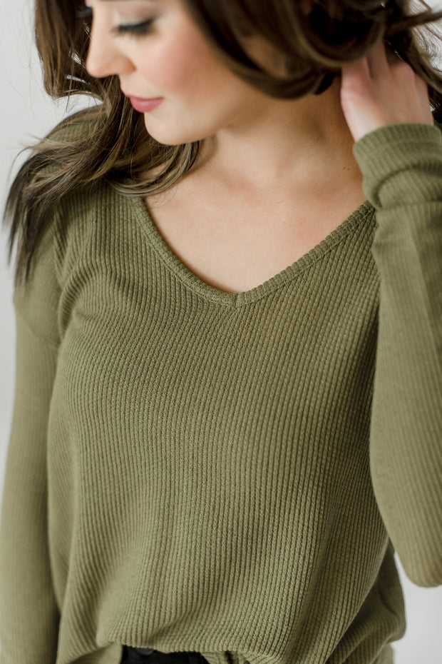 Kai V-Neck Sweater