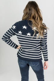 Seaport Soft Star Sweater