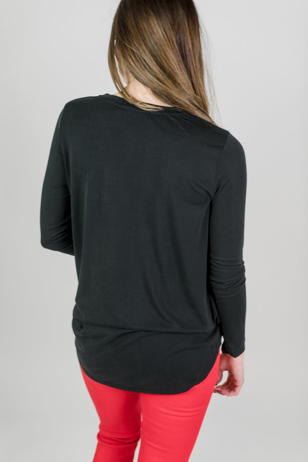 Knotted Front Top