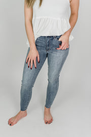 Articles of Society Heather Crop Hi-Rise Jean