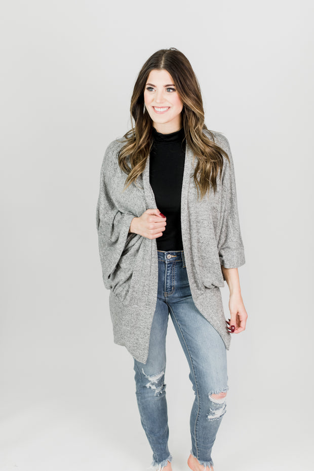 Buttery Soft Simple Cardigan