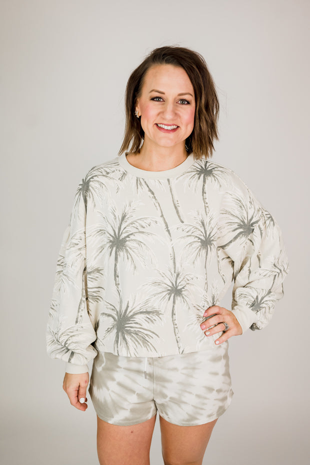 Z Supply Coconut Palm Tempest Shirt
