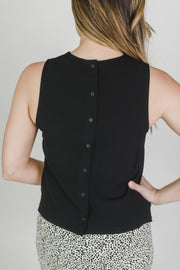 Lannio Button Back Top