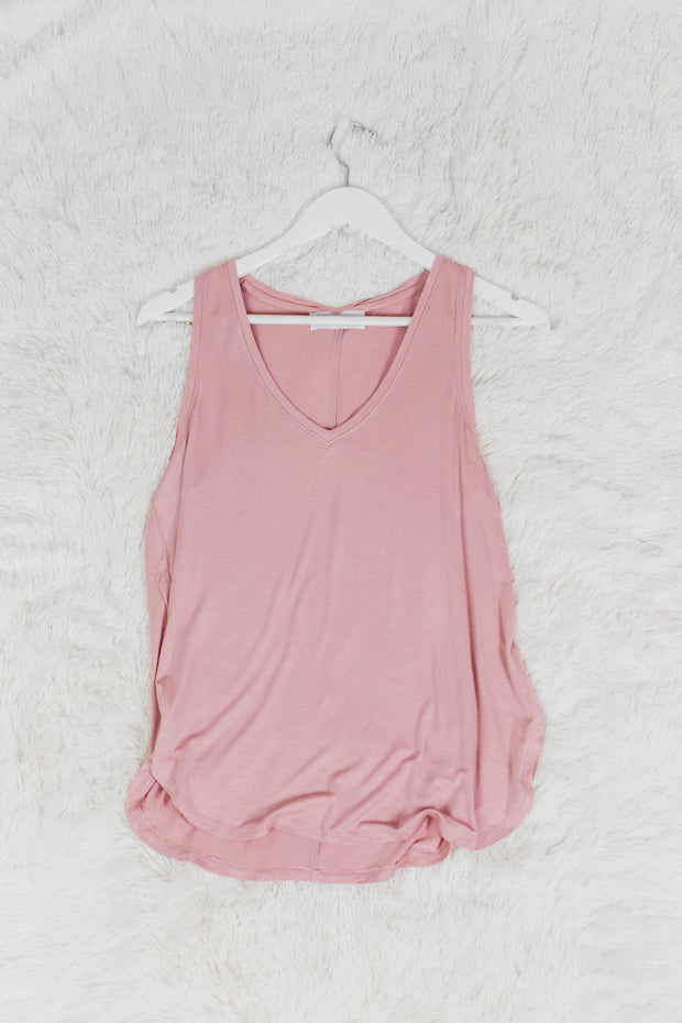 Desert Rose Scoop Neck Tank