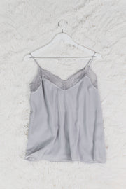 Lace Camisole Silver