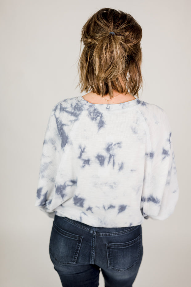 Z Supply Claire Cloud Tie-Dye Top
