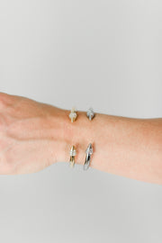 Spike Gold Bling Bracelet
