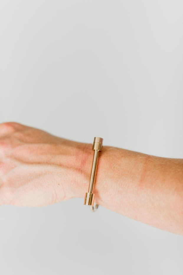 Bar Rose Gold Bracelet