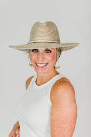 Panama Metallic Gold Hat