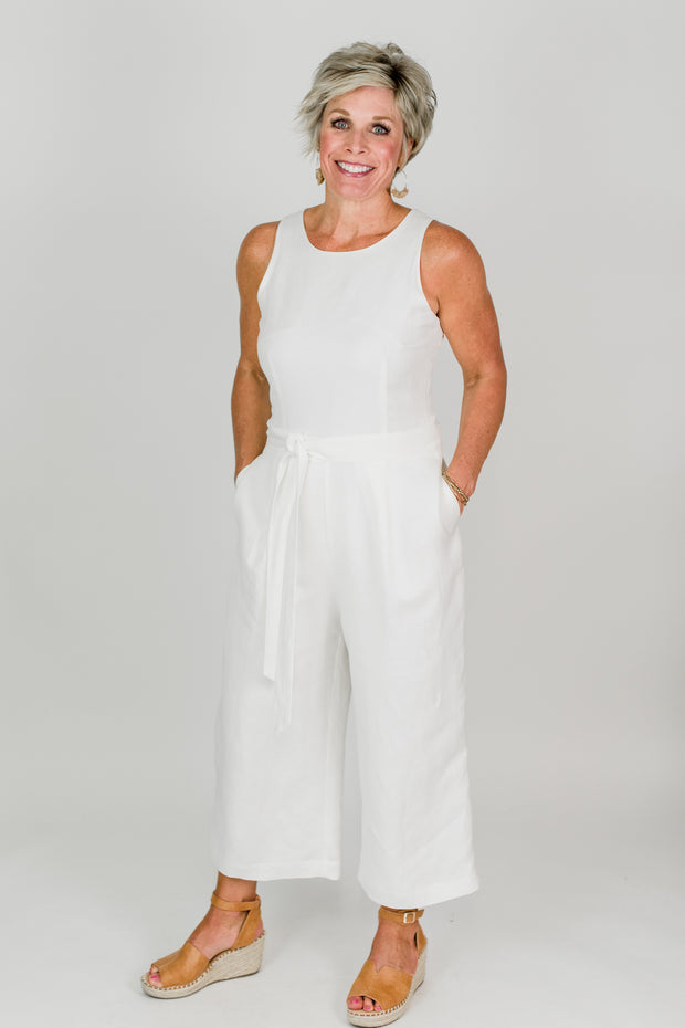 Brilliant Jumpsuit w/Belt