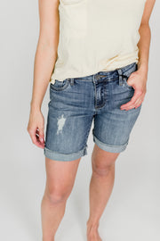KUT Catherine Boyfriend Shorts