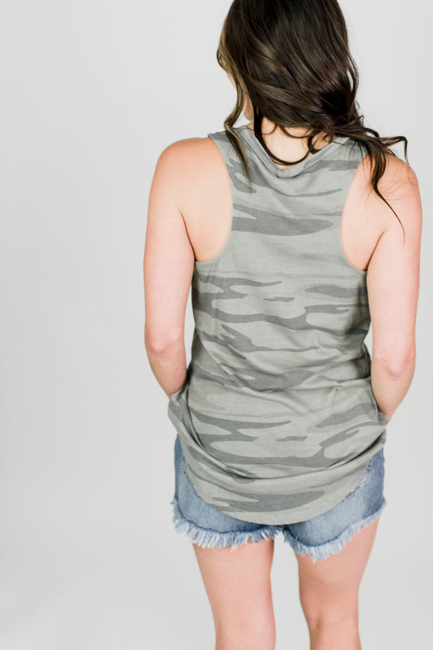 Z Supply Camo Pocket Tank