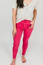 KUT Donna High Rise Ankle Skinny