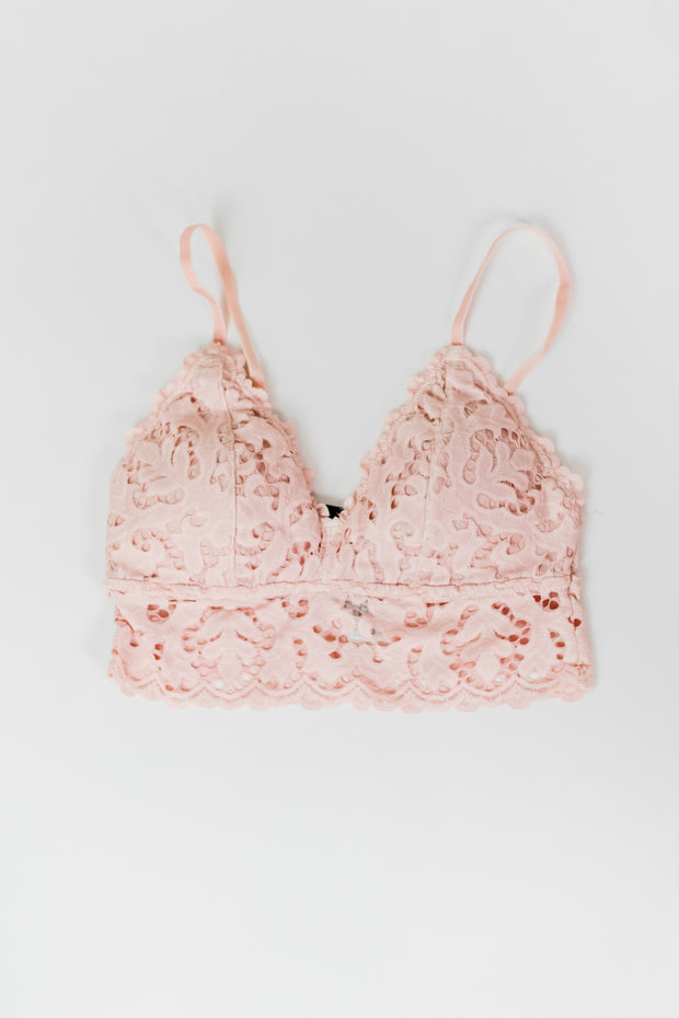 Padded Chunky Lace Bralette