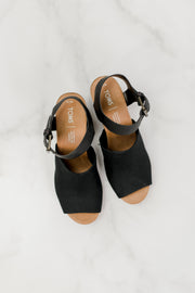 TOMS Tropez Wedges