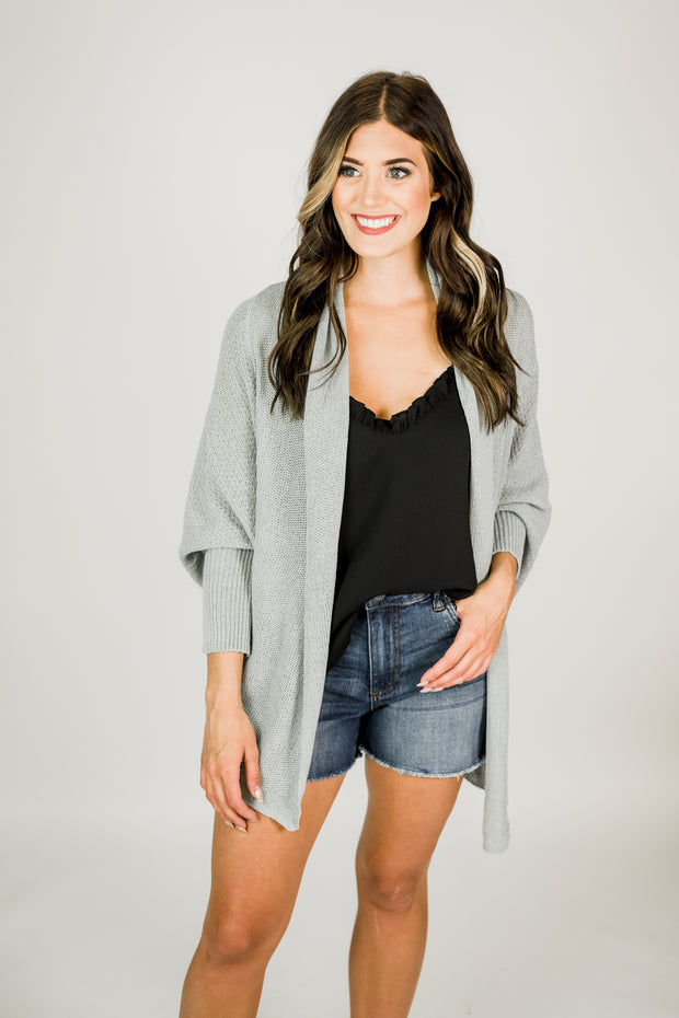 Batwing Style Cardigan