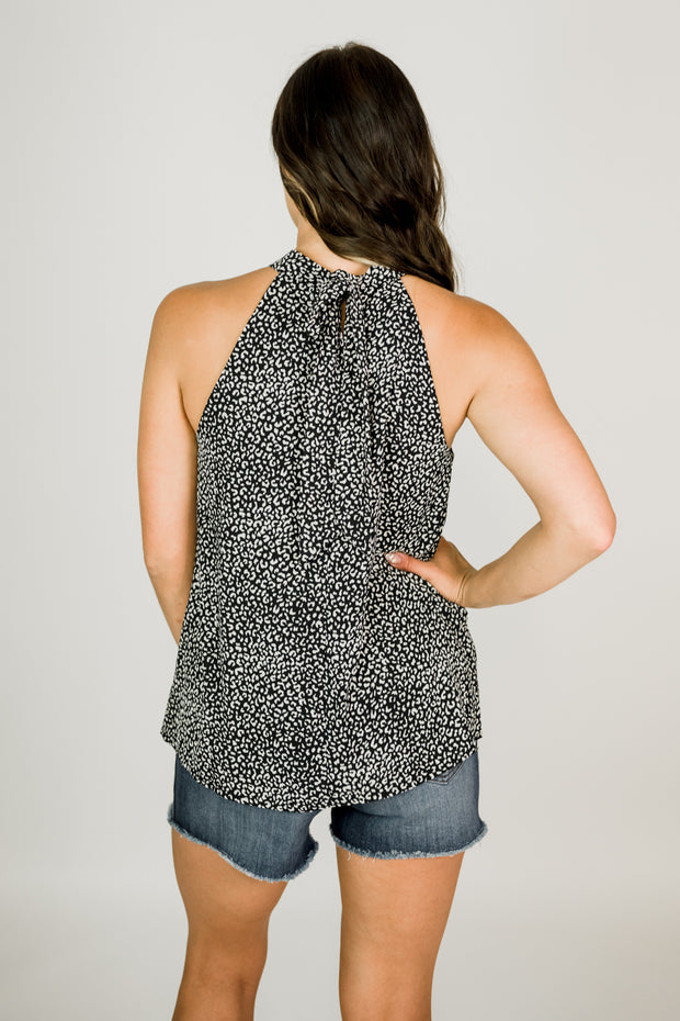 Wild Thing Tie Back Halter