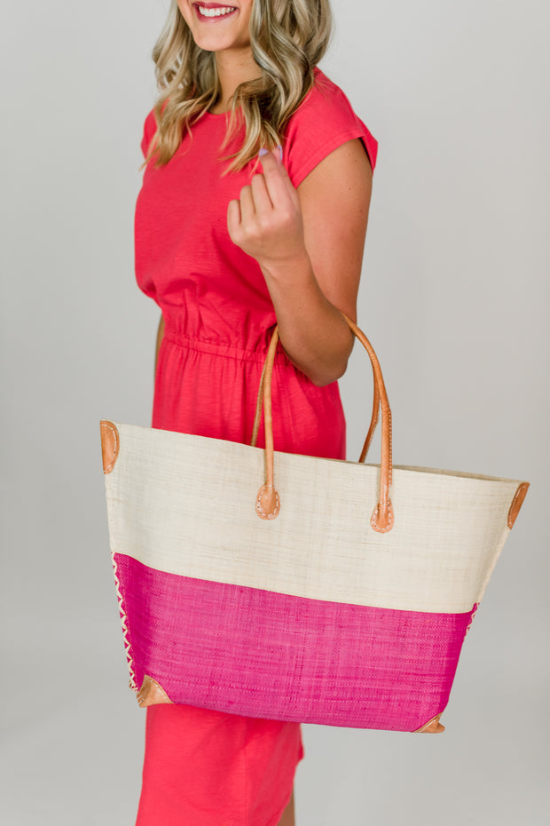 Monterey Straw Bag