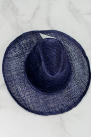 Victor Straw Hat in Blue