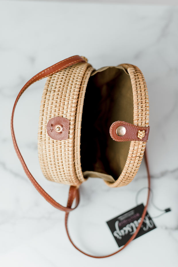 Sun Straw Shoulder Bag